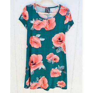3 for $25 T shirt Peach rose dress